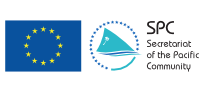 The Secretariat of the Pacific Community and European Union logos
